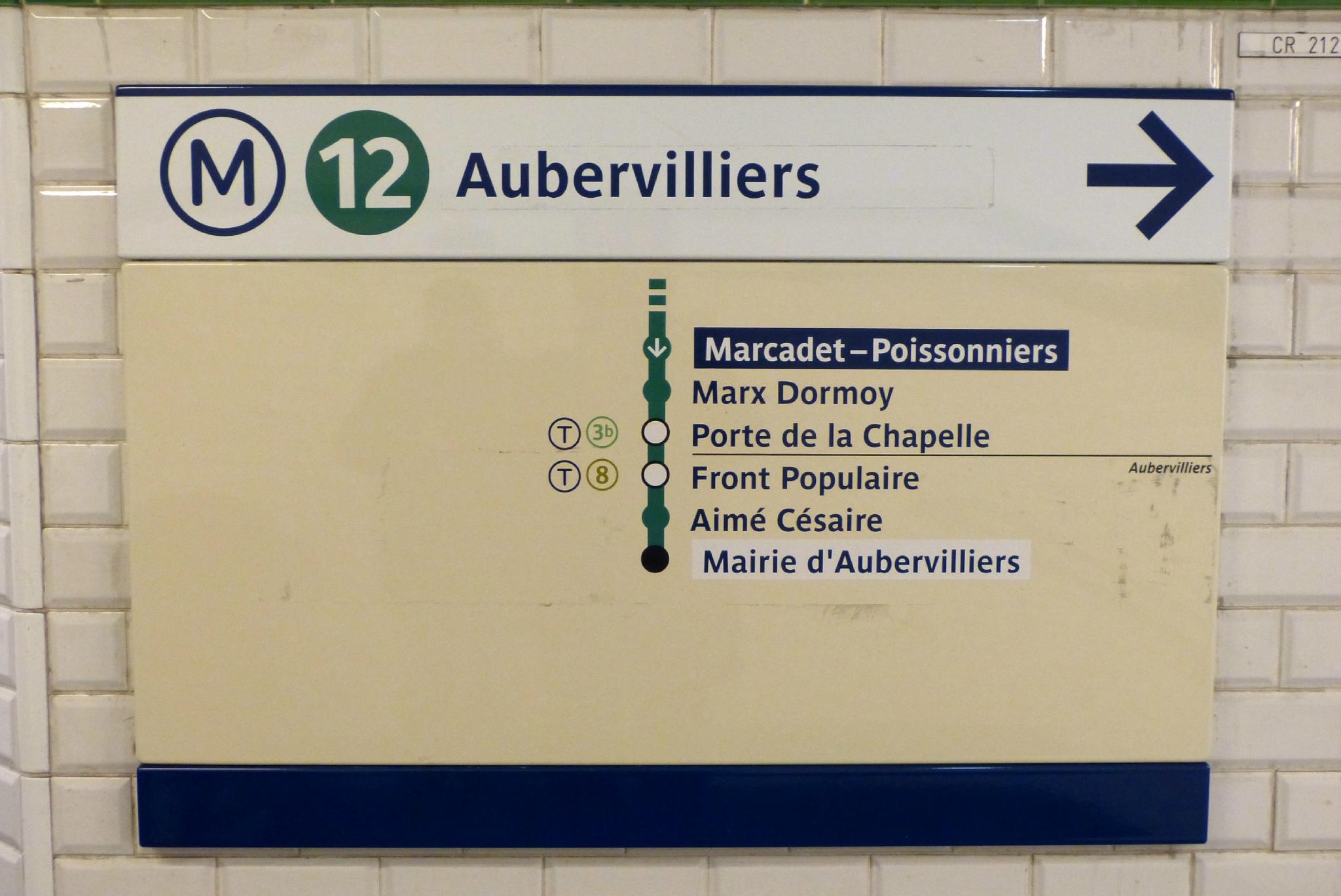 Metro porte d aubervilliers 28 images l extension du - Porte d aubervilliers plan ...
