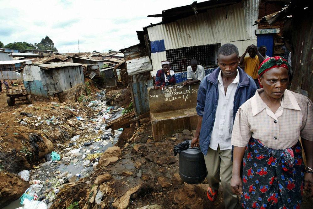 bidonville Kibera