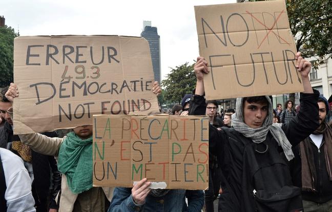 Manifestations à Paris le 12 mai 2016 / AFP