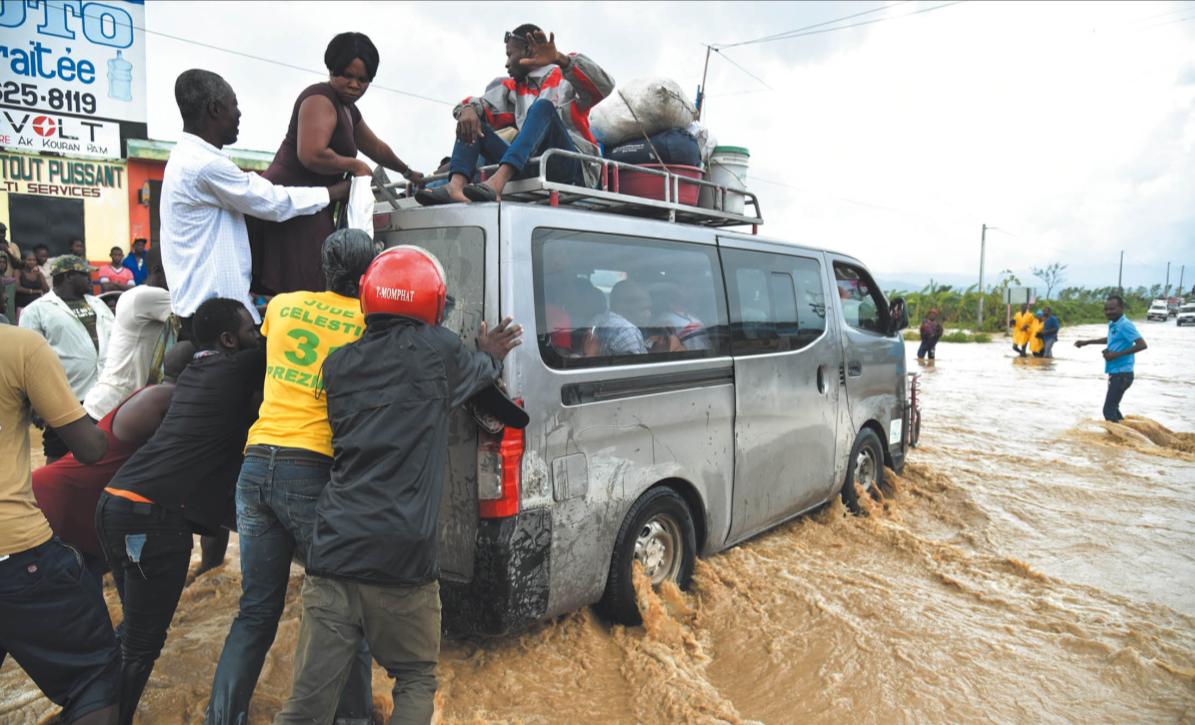En Haïti l'ouragan Matthew a fait plus de 230 000 victimes