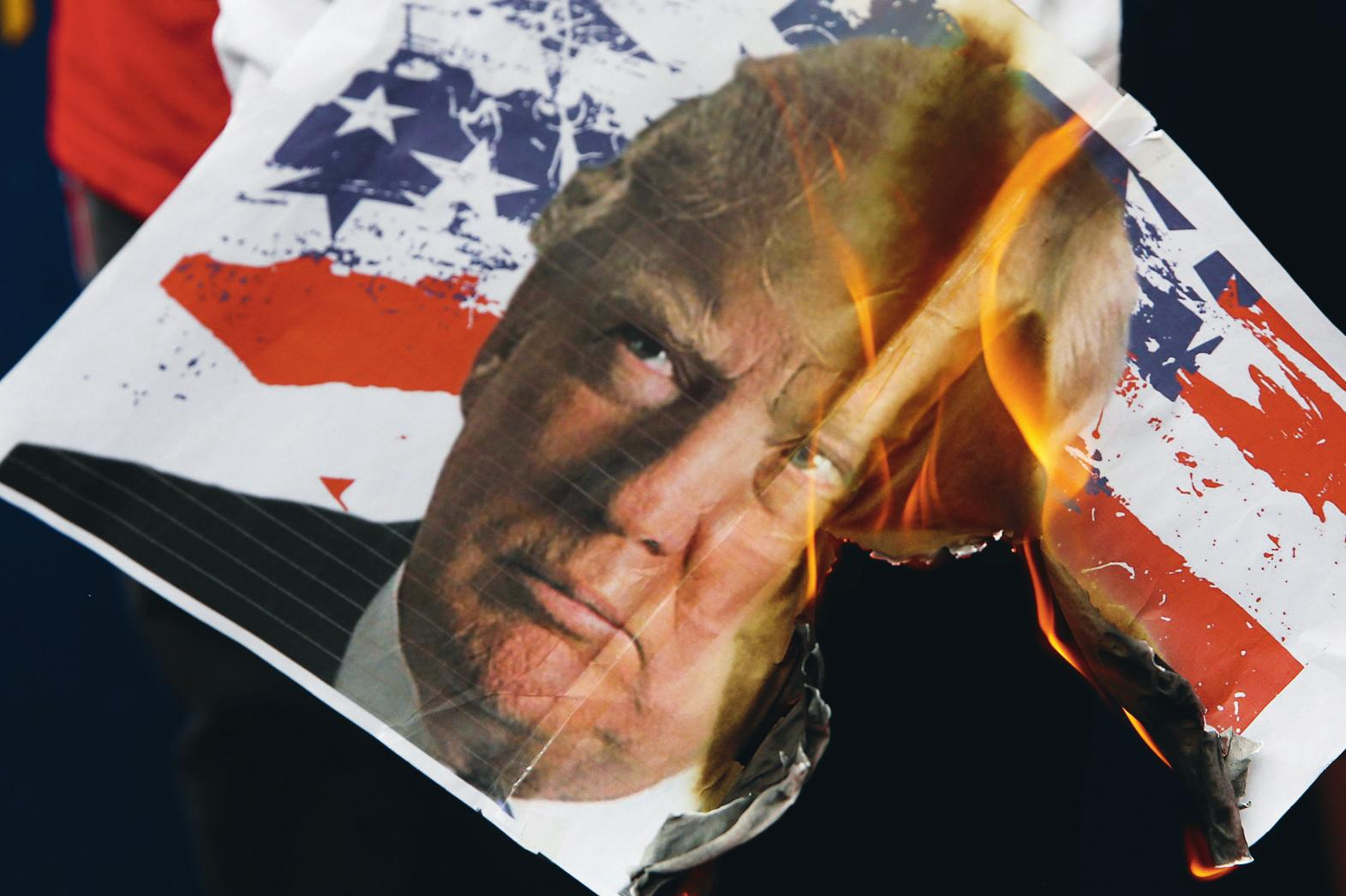 La violence du discours dit «de rupture», qui séduit de chaque côté de l'atlantique, sert la survie du capitalisme au détriment des plus démunis. Erik de Castro/REUTERS