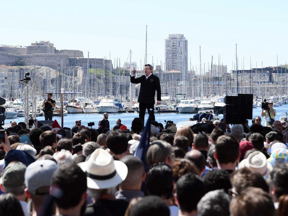 Meeting de Jean-Luc Mélenchon à Marseille