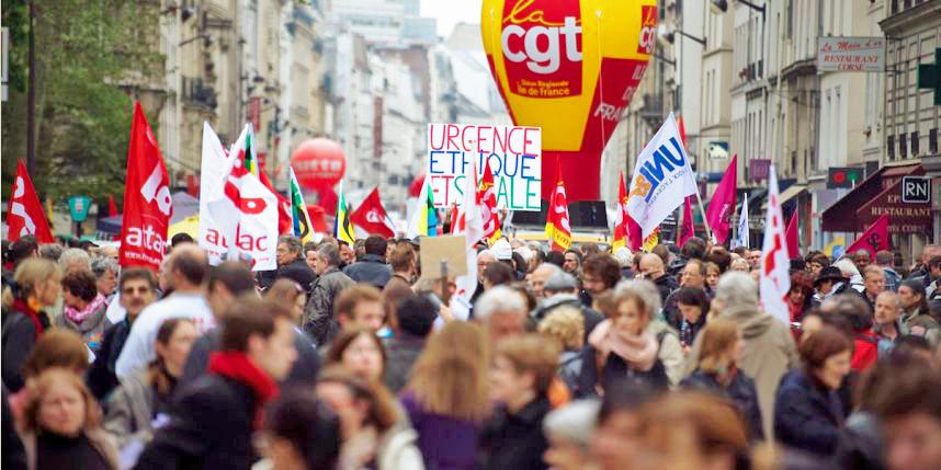 """'La réussite des rassemblements et marches du 1er mai diront à la fois le refus de l'extrême droite et la mobilisation pour le progrès social, la démocratie et la paix."""""""